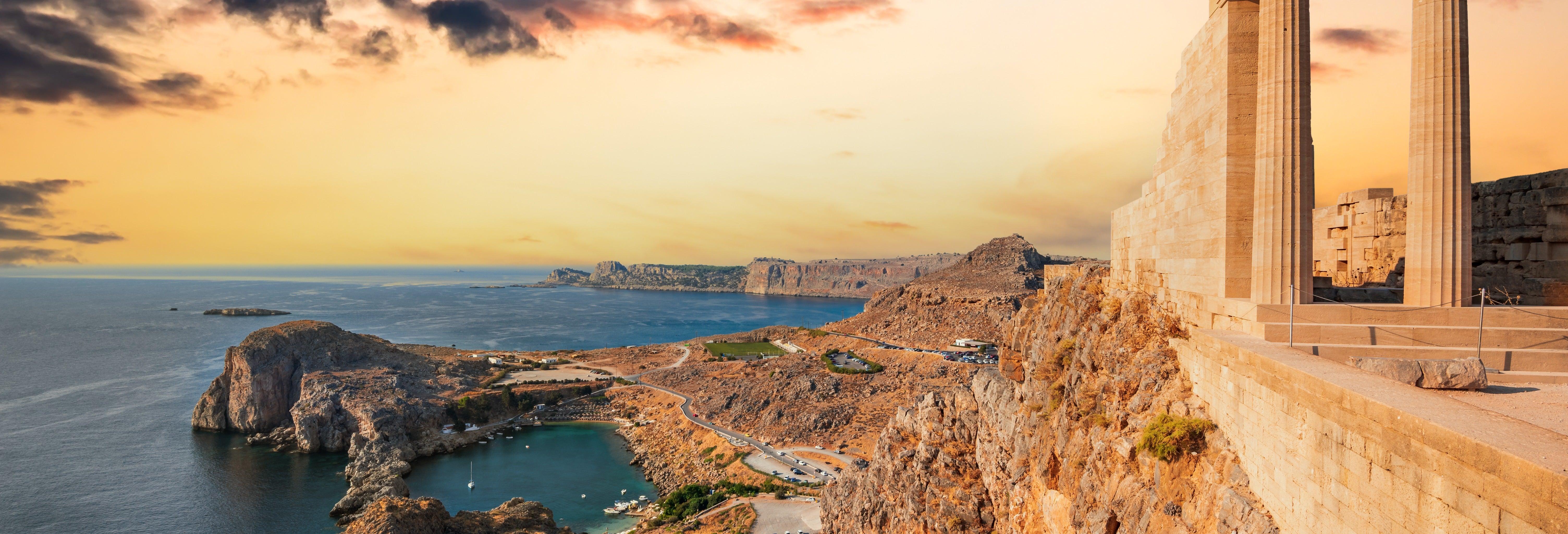 Autobús turístico de Rodas