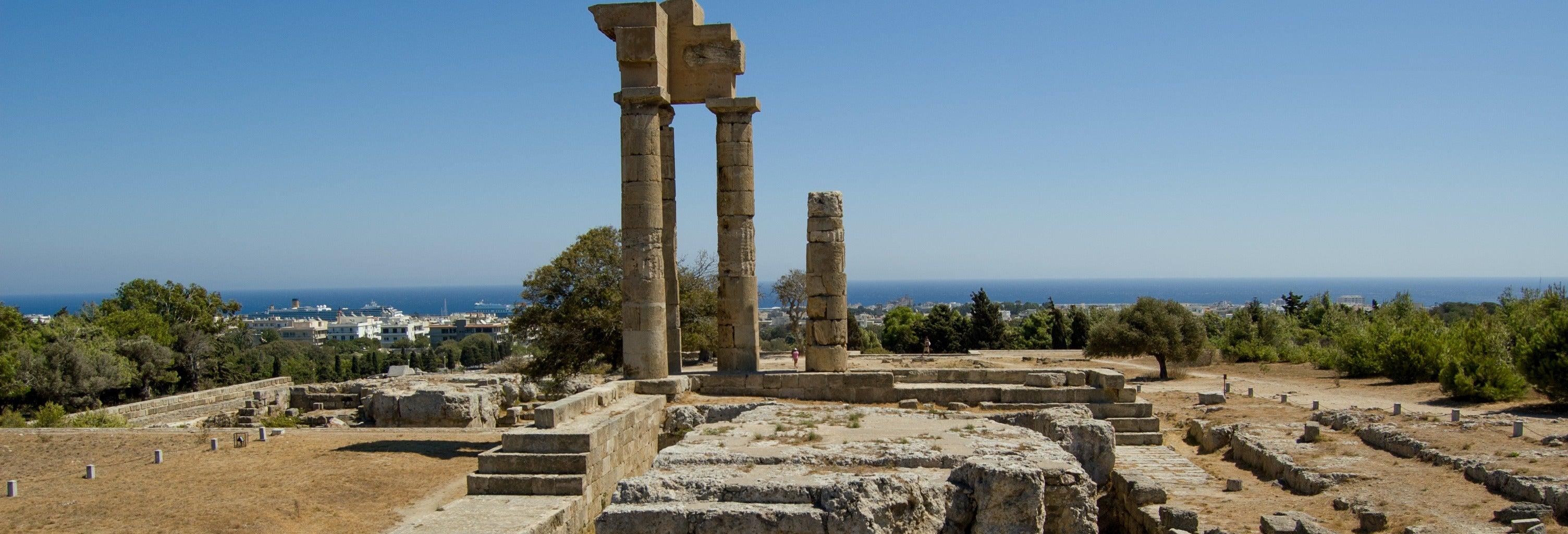 Visite de la vieille et de la nouvelle ville de Rhodes