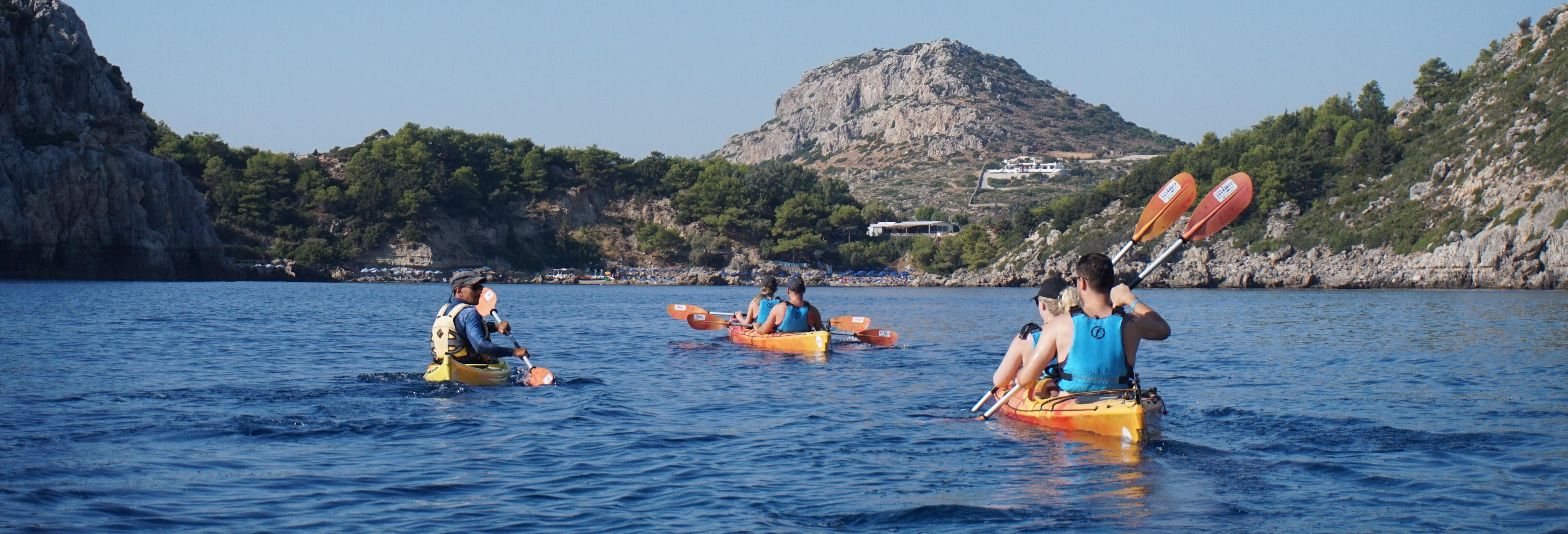 Rhodes Coastal Kayak Tour