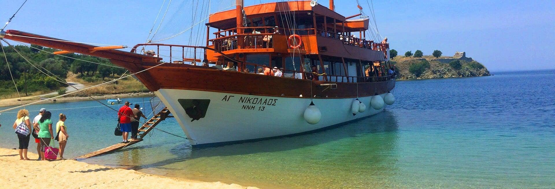 Escursione in barca a Neos Marmaras, Toroni e Kelifos