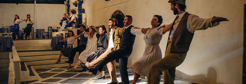 Espectáculo de boda griega con cena