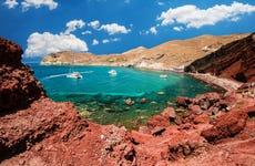 Excursión a Akrotiri, playa Roja y Oia