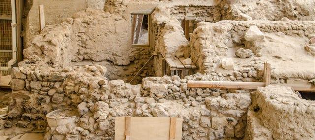 Excursión al yacimiento de Akrotiri