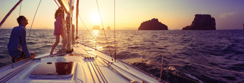Giro in barca al tramonto con barbecue