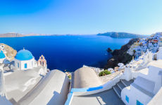 Excursión privada por Santorini con guía en español