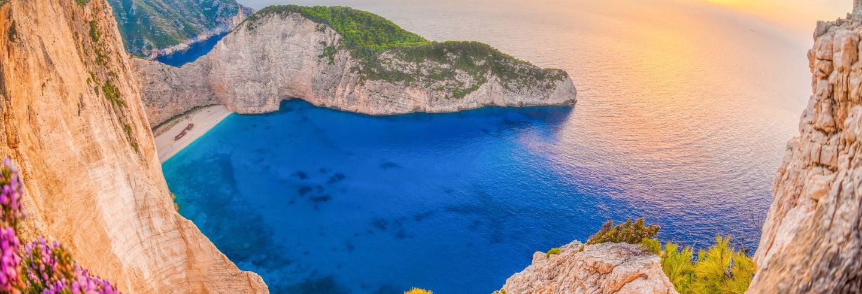 Tour pela ilha de Zakynthos ao entardecer