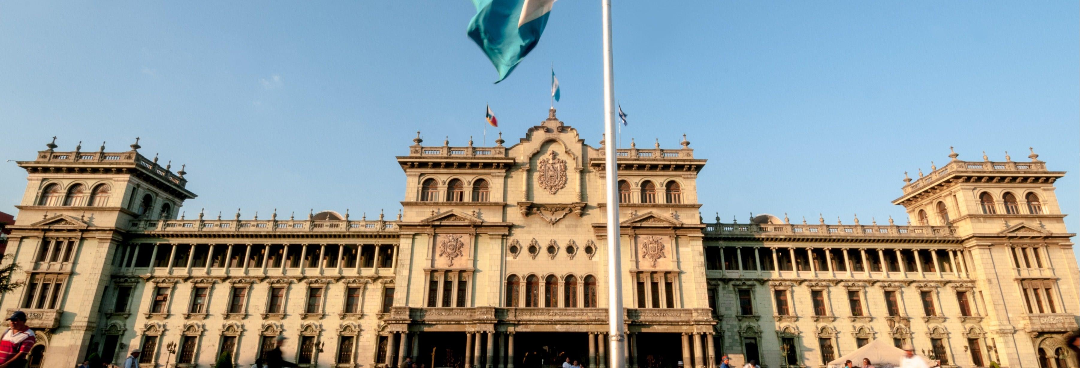 Visita guiada por Cidade da Guatemala