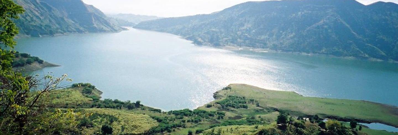 Excursão ao lago de Péligre e Bassin Zim