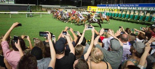 Carreras de caballos en Happy Valley