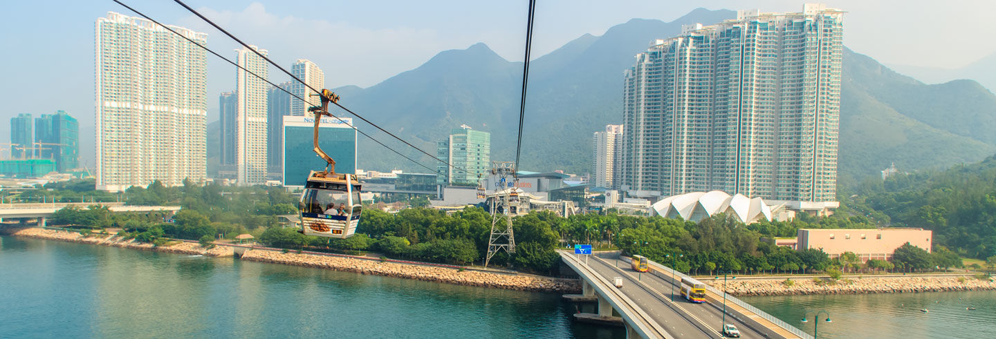 Lantau Island Cable Car, Bus Tour & Boat Trip