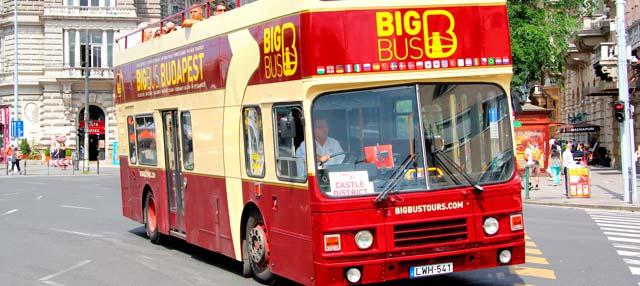 Budapest Hop-On Hop-Off Bus Tour