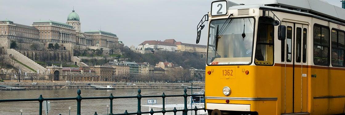 Bondes em Budapeste