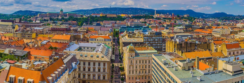 Tour en hélicoptère au-dessus de Budapest