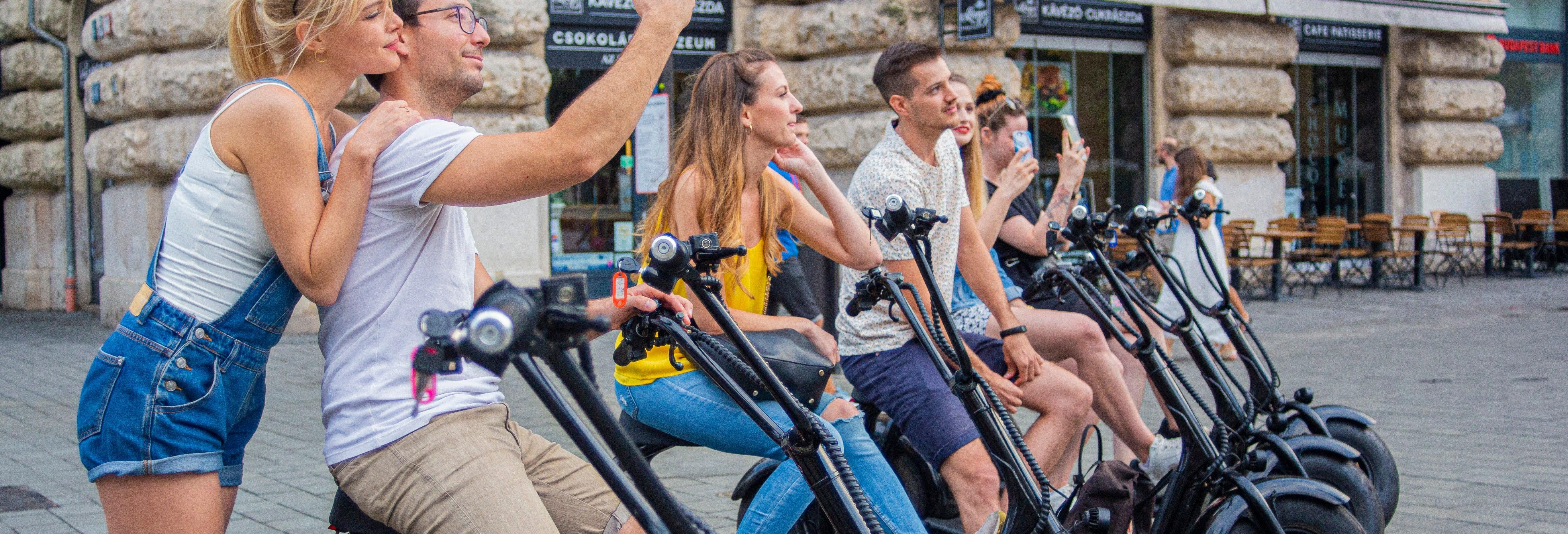 Tour en scooter por Budapest