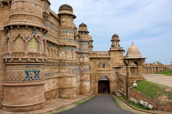 Exterior architecture in the Galiwor Fort