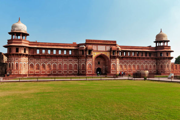 Agra's Red Fort