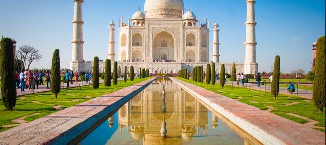 Tour privado por el Taj Mahal y el Fuerte de Agra
