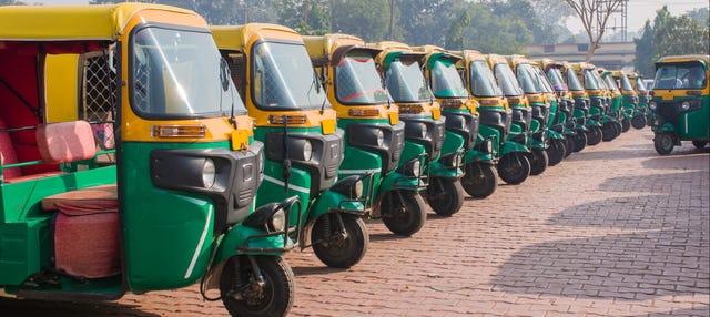 Tour en tuk tuk por Agra