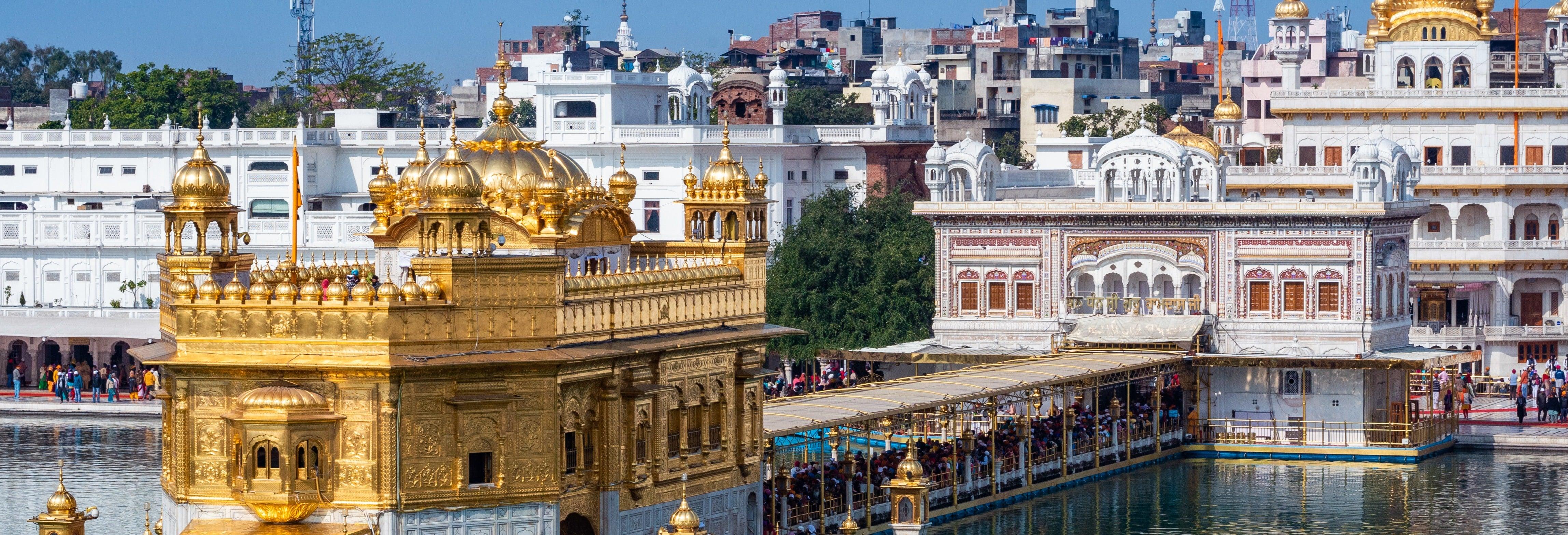 Visita guiada privada por Amritsar e seus templos