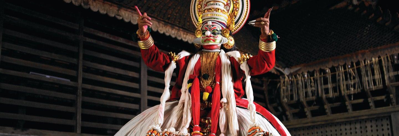Spectacle de danse Kathakali