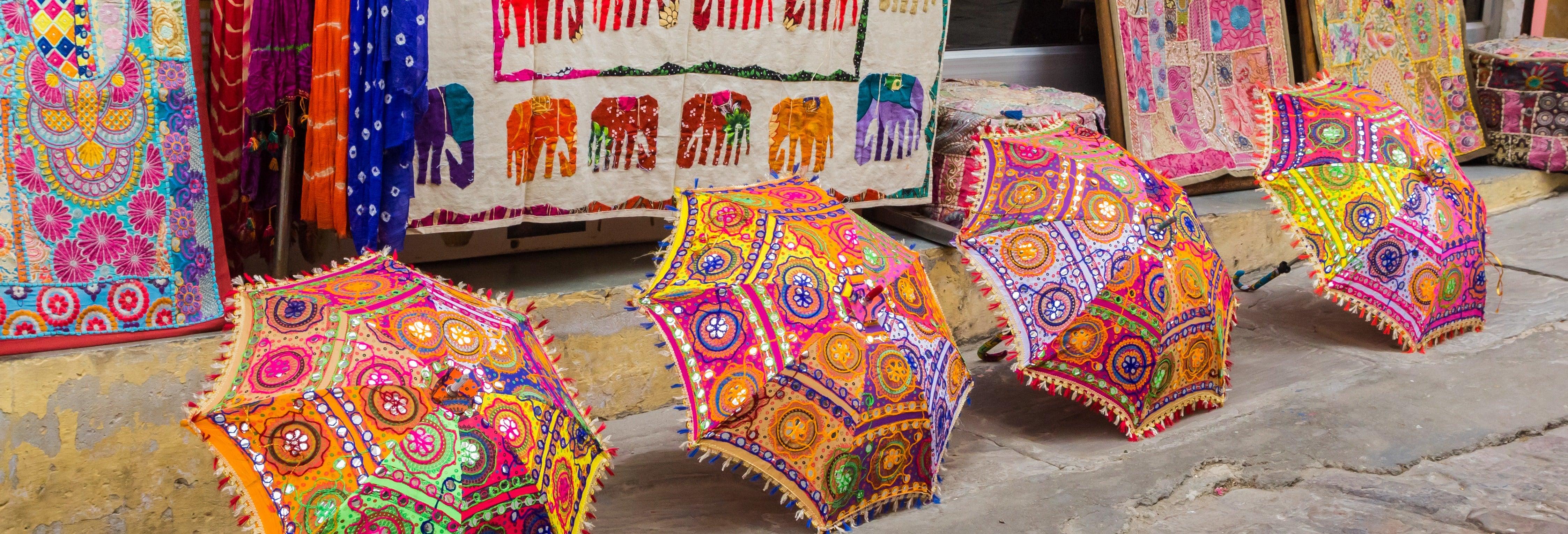 Tour dei bazar di Jaipur
