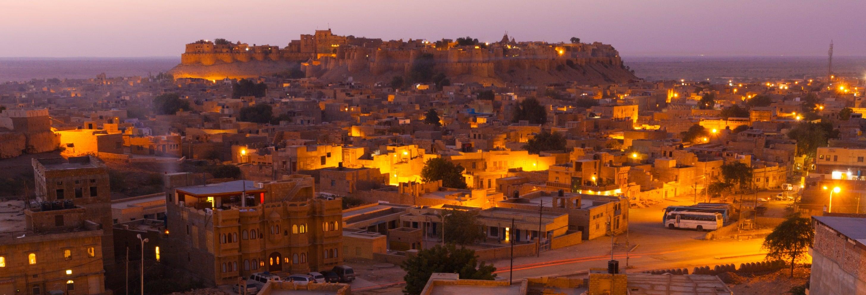 Tour nocturno por Jaisalmer