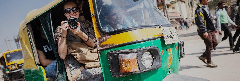 Tour en tuk tuk por Varanasi