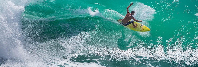 Stage de surf de 3 jours + Yoga à Nusa Lembongan