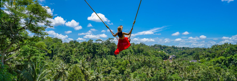 Tour ao parque Bali Swing