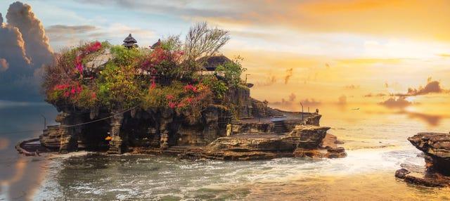 Excursión privada a los lagos y templos de Bedugul y Tanah Lot