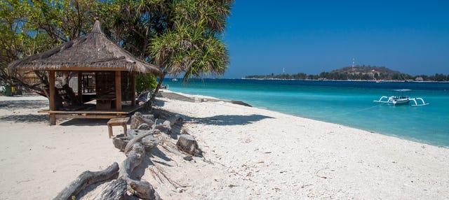 Transfert aux Îles Gili en bateau