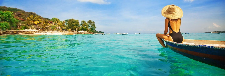 Traslado hasta la isla Lembongan en lancha rápida