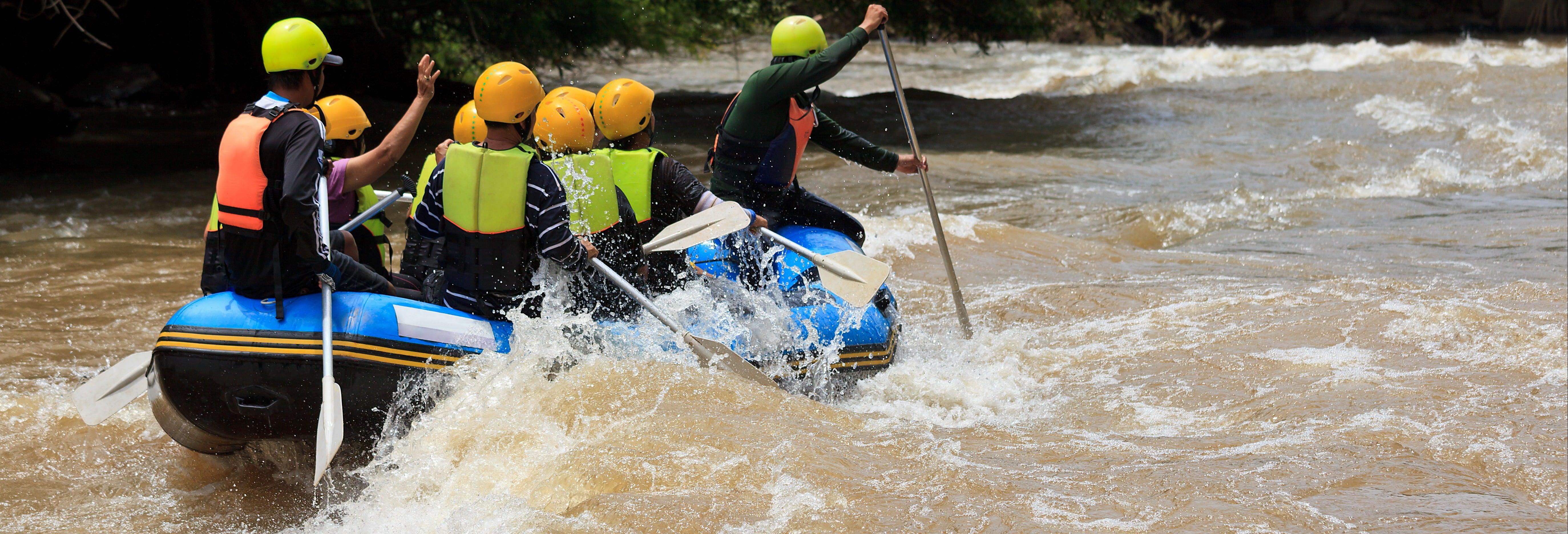 Rafting en el río Jangkok