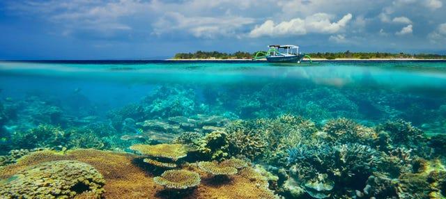 Transfer de barco às ilhas Gili e Bali