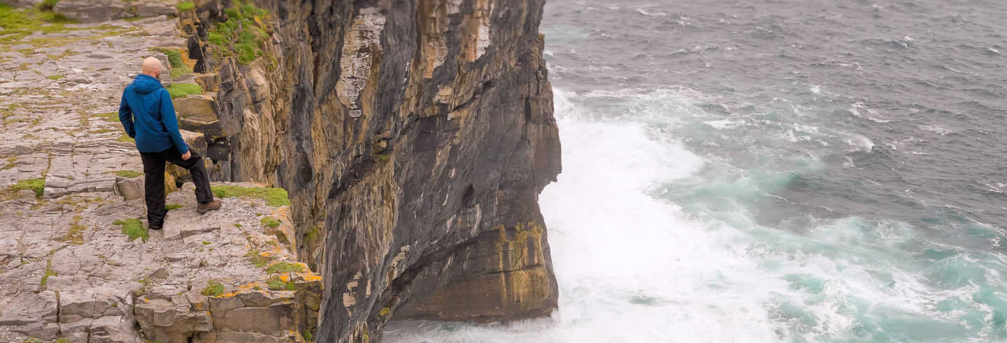 Inishmore Ferry + Cliffs of Moher Boat Cruise