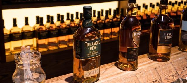 Entrada al Museo del Whiskey Irlandés