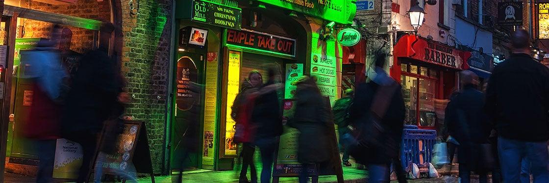 Divertimento notturno a Dublino