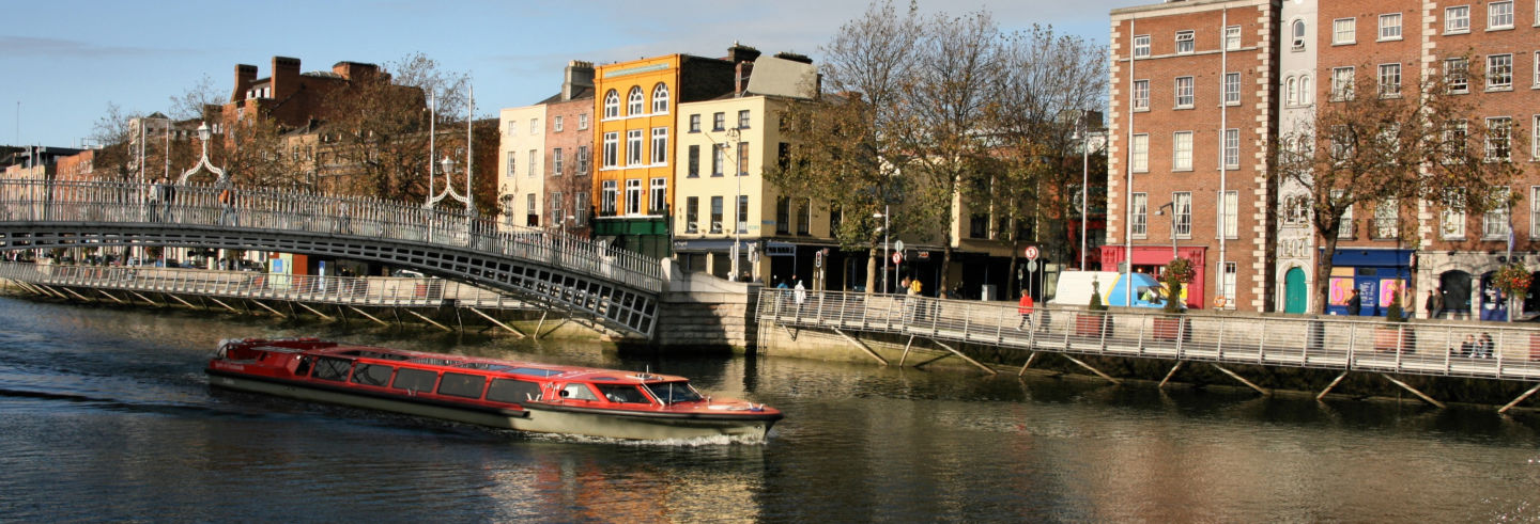 Giro in barca a Dublino