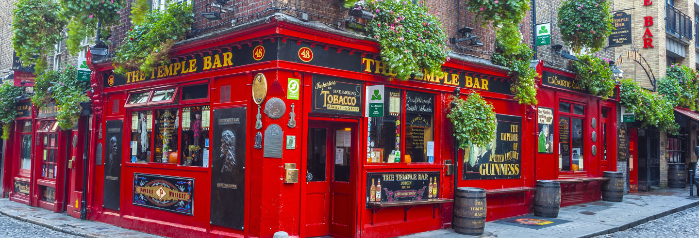 Pub Crawl di Dublino a Temple Bar