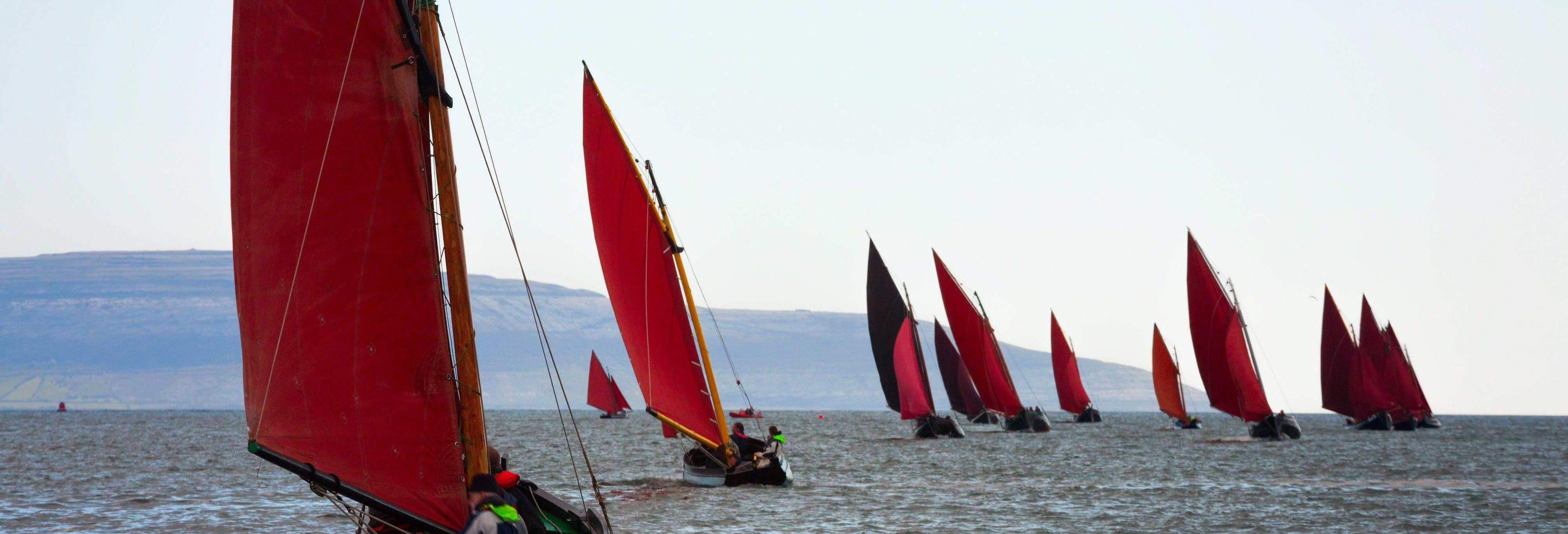 Paseo en velero tradicional por la costa oeste de Irlanda