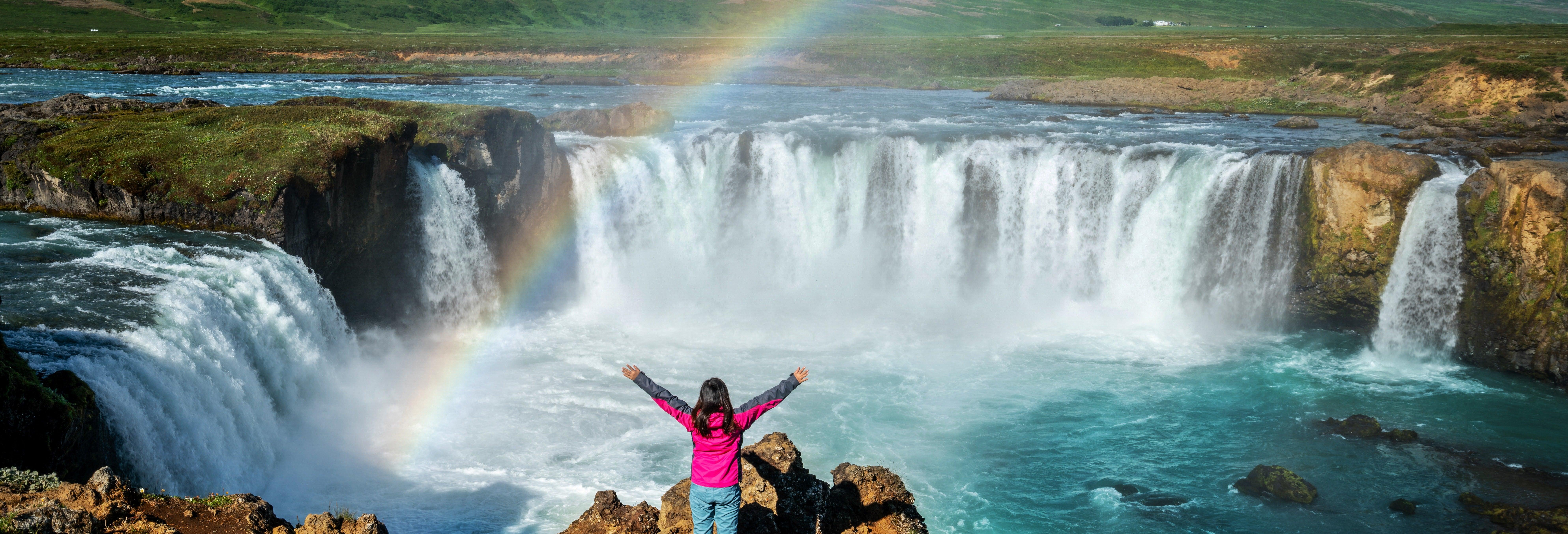 Excursão à cascata Godafoss para cruzeiros