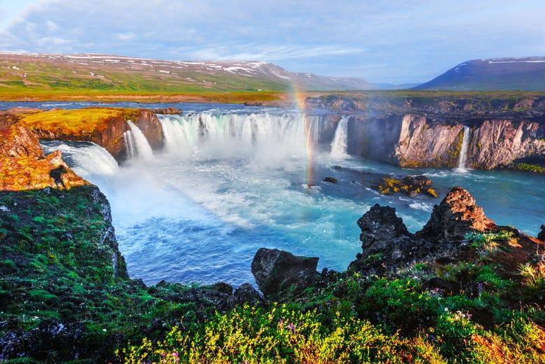Excursión a la cascada Godafoss para cruceros desde Akureyri