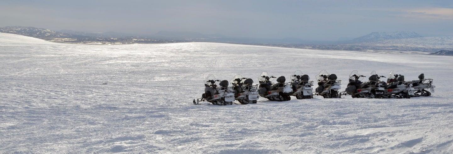Aventura en moto de nieve + Cueva glaciar Langjökull