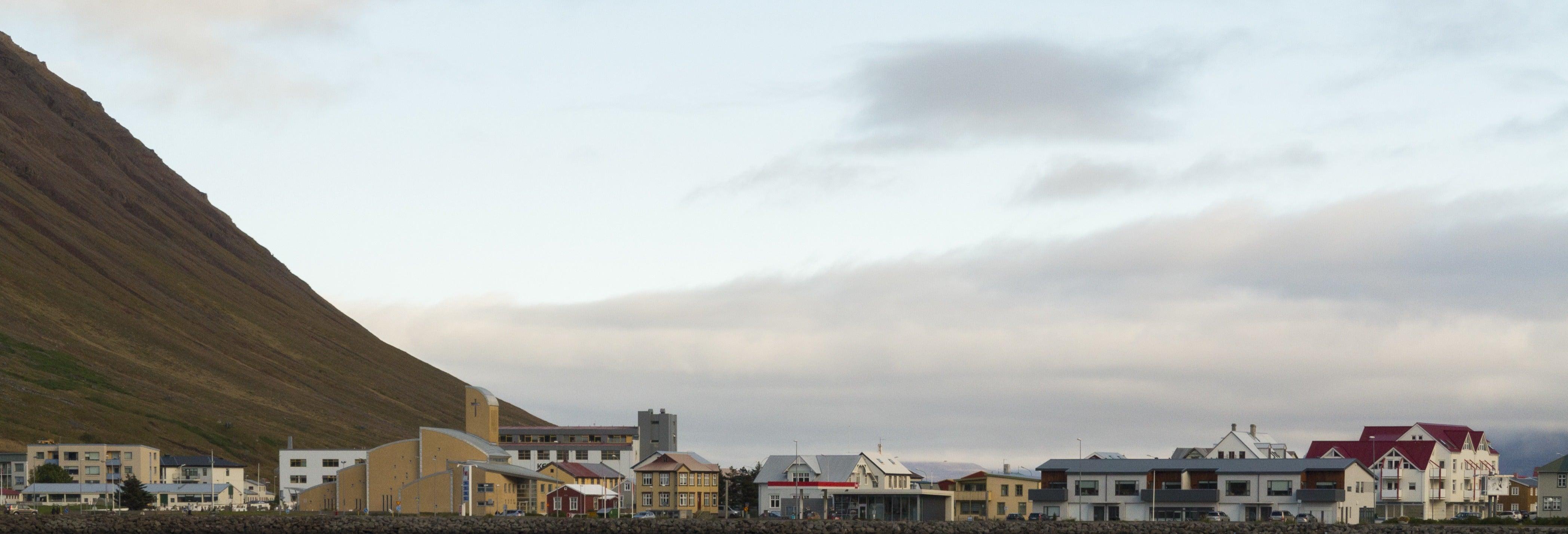 Visite en kayak dans la baie d'Isafjordur