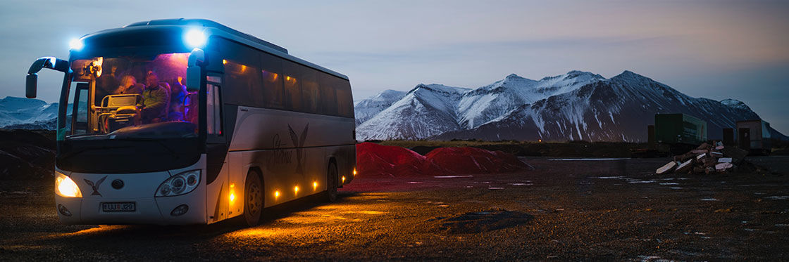 Buses in Iceland