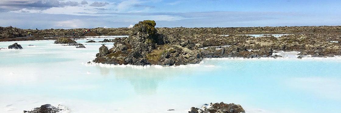 Lagon Bleu en Islande