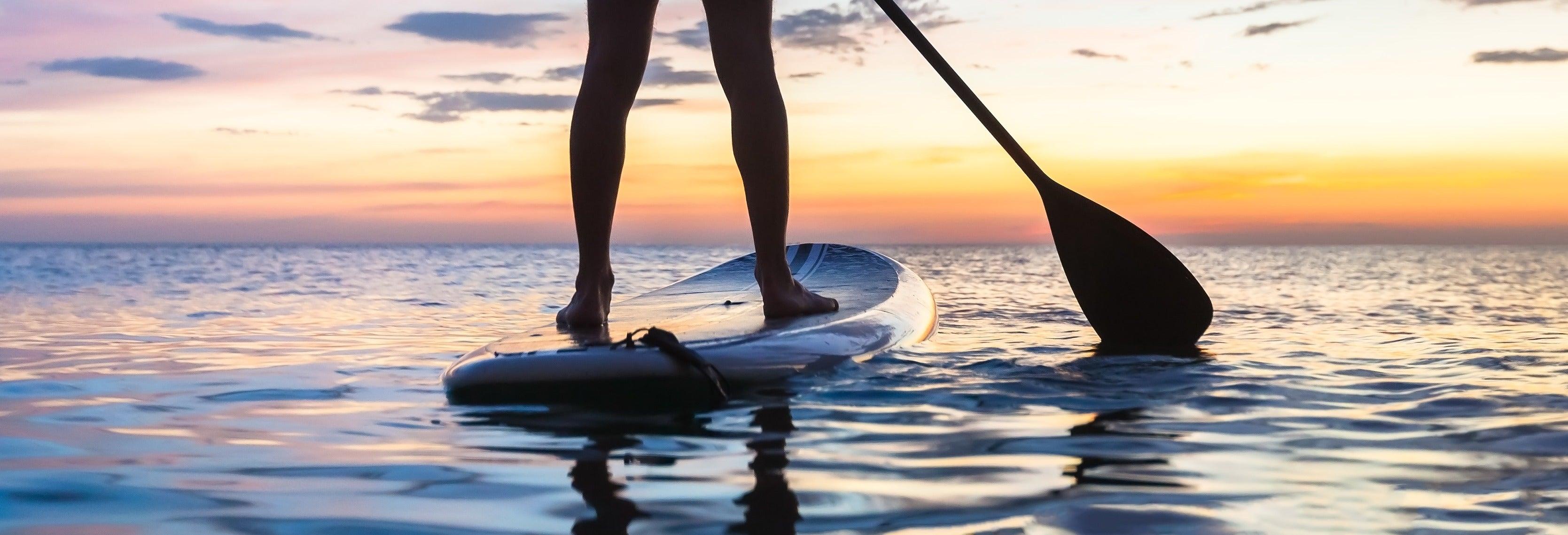 Paddle surf en Laugarvatn