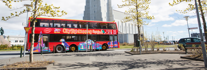 Bus touristique de Reykjavik