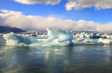 Cascadas de la costa sur y lago glaciar en 2 días
