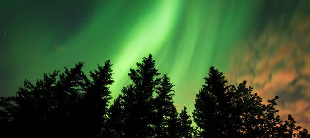 Círculo de Oro + Aurora boreal